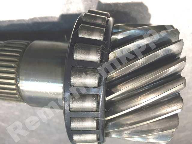 Гудит коробка передач Опель Мерива (М32) - износ опорного подшипника вала мкпп