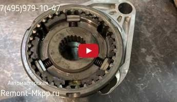 Разборка тросовой КПП Lada Granta - Диагностика коробки передач Vaz 2180