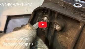 Ремонт коробки передач Ситроен Джампер - видеоотчет по ремонту мкпп BVM6